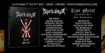 Darkadya Live Metal - Book of the World's Best Music Photographers, volume 1